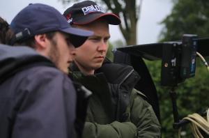Director William Stone with cinematographer Adam Pickford