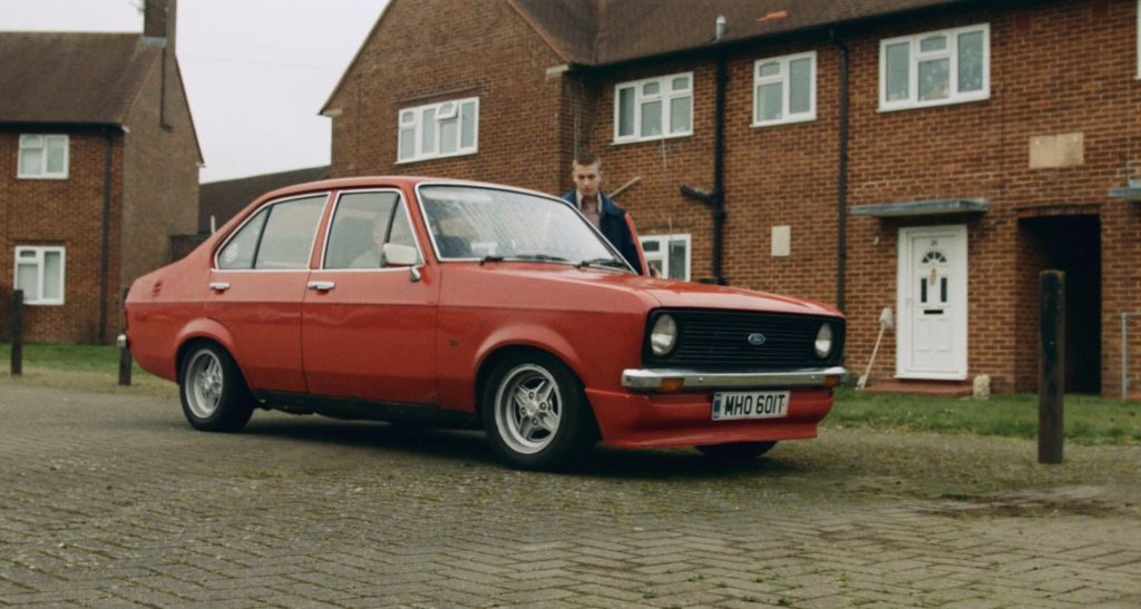 Red ford escort